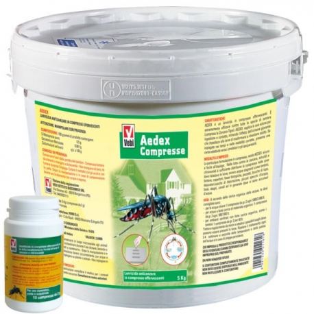 Aedex przeciwko rozwojowi komarów